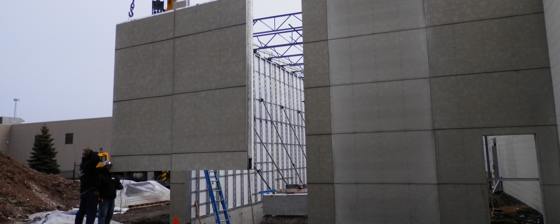 FORTECO Tilp Up Walls | Lafayette Testing