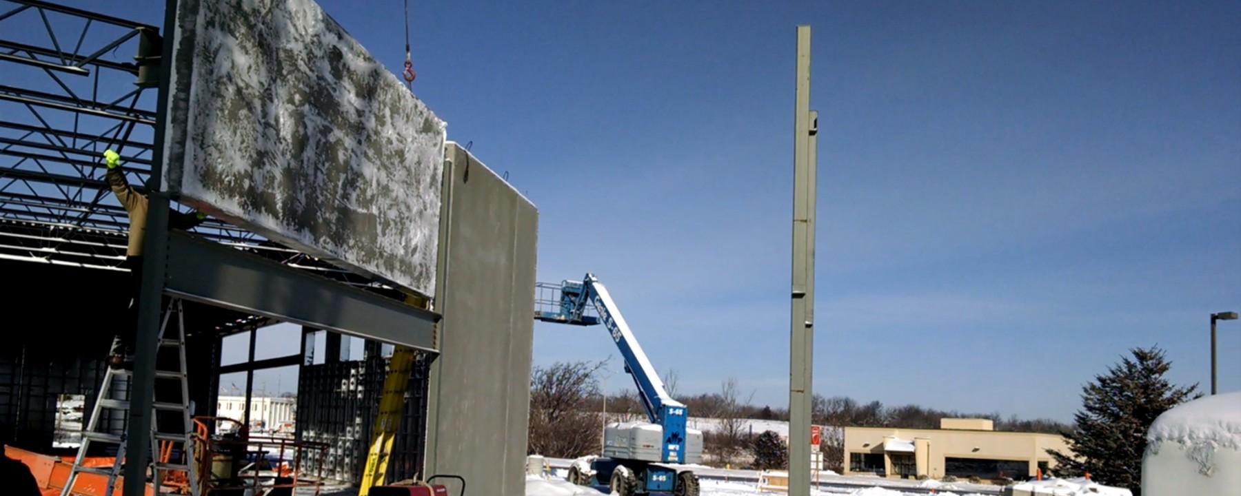 Good Harvest Market Project   Light Weight of Panels Simplifies Construction